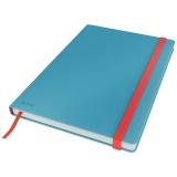 Leitz Cosy notatbok L ruter Blå