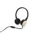 HP H2800 Headset Svart/Guld