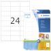 Etikett HERMA Premium A4 70x36 (25)
