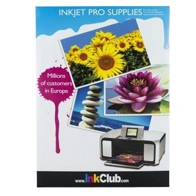 inkClub DVD-omslag i fotokvalitet, 10 ark, 280g