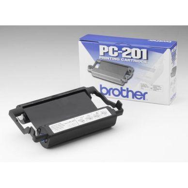 BROTHER Kassett inklusive färgband PC201 Motsvarar: N/A