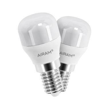 Bild AIRAM Airam LED Birnenlampe E14, 1,6W, 2-Pack