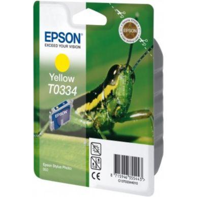 EPSON Mustepatruuna keltainen 17ml