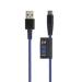 Xtorm Solid blå USB C, 1 m Kevlar