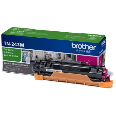 Brother TN 243 M Lasertoner – TN243M  – Magenta 1000 sider