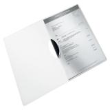Leitz ColorClip PP WOW A4 valkoinen