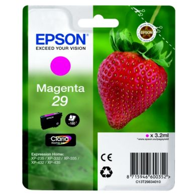 Epson Epson 29 Blækpatron magenta, 180 sider T2983 Modsvarer: N/A
