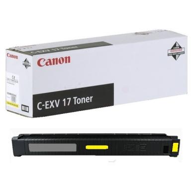 CANON Värikasetti keltainen 30 000 sivua (C-EXV 17)