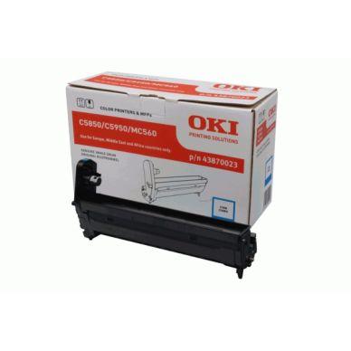 OKI C5850/5950/MC560 Y (43865721) Lasertoner, gul,  6000 print