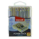 Maxell AAA LR03 24 power pack