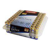 Maxell Batterier LR6/AA Alkaliske 100-pakk