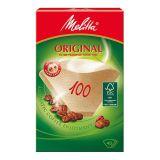 Melitta Kaffefilter 100 Ubleget pakke med 40 stk.