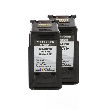 inkClub Bläckpatroner svarta (2 x MCA018) MCA018-2 Motsvarar: PG-540