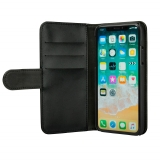 GEAR iPhone X/Xs Aftageligt Magnetcover Sort