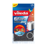 Vileda Power Inox skrubbsvamp i metall, 2 st