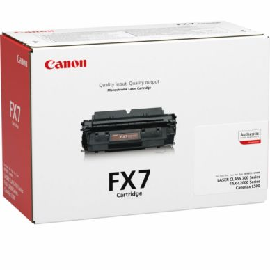 CANON Värikasetti musta (FX-7)