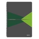 Anteckningsblock Leitz OfficePP A4 linjerat grön
