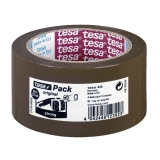 Pakketape Tesa Strong 66mx50mm brun, 6 stk.
