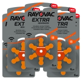 Rayovac Extra Advanced ACT 13 orange 5-pakk