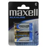 Maxell Batterier LR-14, C Alkaliske 2-pakk