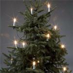 Juletrebelysning, 16 lys