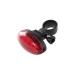 Cykel Baklyse 5 LED Röd
