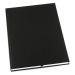 Muistikirja GRIEG Design sid. A4 100 g ei viiv. musta
