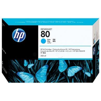 HP HP 80 Mustepatruuna cyan, 350 ml