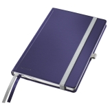 Notesbog Style A5 Hard linj. 80ark blå