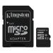 Kingston Minnekort 16GB,microSDHC,SDHC-adapter,Class 10