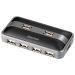 HAMA USB-hubi 1:7 sähköllä