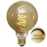 Dekoration LED filament E27 G95 2000K 130lm Dimmer