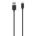 Belkin Micro USB 2.0 2M Cable - 2M - Sort