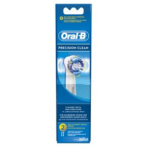 oral b precision clean 2 stk. Black Bedroom Furniture Sets. Home Design Ideas