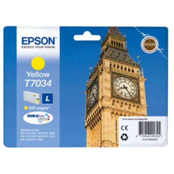 EPSON Blekkpatron gul 800 sider