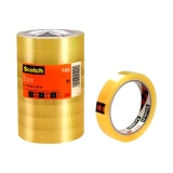 Kontortape Scotch 508, 66 m x 19 mm, 8 stk.