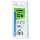 Airam smältpropp 20A, 5-pack