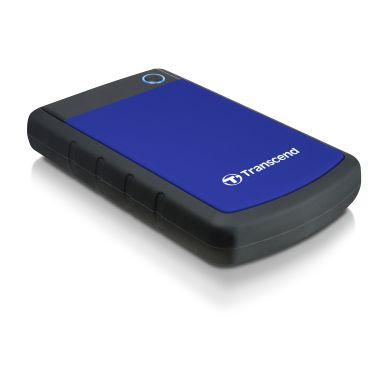 Transcend Transcend 2,5 extern hårddisk, 1TB USB 3.0, blå TS1TSJ25H3B Motsvarar: N/A