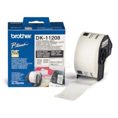 Blekk til BROTHER DK11208