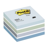 Post-it Kube 76 x 76 mm blå/hvit
