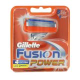 Gillette Fusion Power 4 kpl partateriä