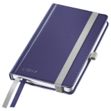 Notesbog Style A6 Hard linj. 80ark blå