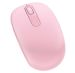 Microsoft Wireless Mobile Mouse 1850 Vaaleanpunainen
