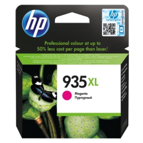 Pris på HP Blekkpatron magenta HP 935XL, 825 sider C2P25AE Tilsvarer: N/A