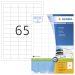 Etikett HERMA Premium A4 38,1x21,2 (100)