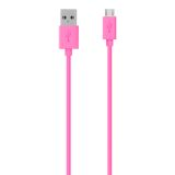Belkin Micro USB 2.0 2M Cable - 2M - Pink