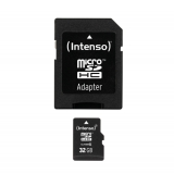 Intenso Micro SD 32GB Class 10