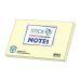 Notes 76x127 mm gul resirkulert papir  (12)