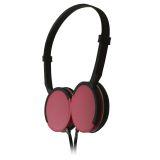 Maxell MXH-HP200 SUPER SLIM Hovedtelefon Pink