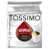 Gevalia Tassimo mörkrost kaffekapslar, 16 port